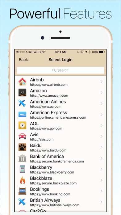 Password Manager Data Vault review screenshots