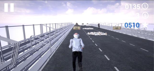 Bernie Run, game for IOS
