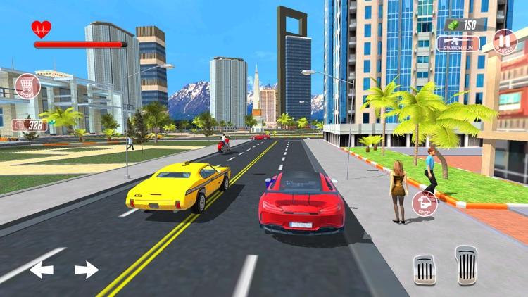 Super Hero Flying Simulator 3D screenshot-3