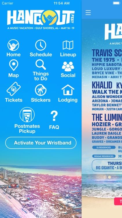 Hangout Music Festival screenshot-1