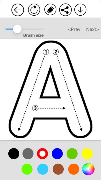 ABC Alphabet & Number Coloring