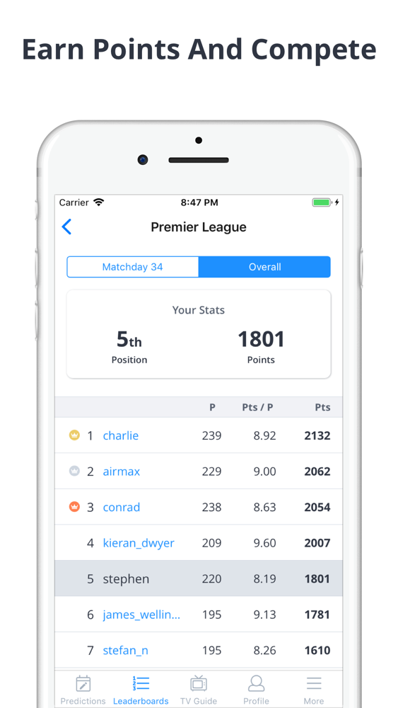 Forscore - Football Predictor App for iPhone - Free Download