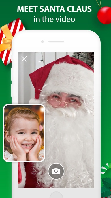 Santa Claus Video Message App screenshot 1