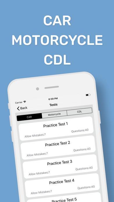 DMV CA Permit Practice Test App Data & Review - Education
