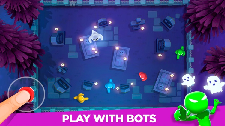 Stickman Party: 4 player games screenshot-0