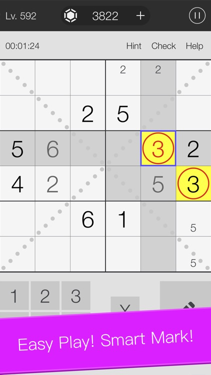 Sudoku Game: genius scan