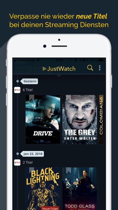 Justwatch Neu