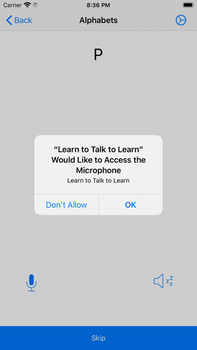 Learn to Talk to Learn screenshot 2