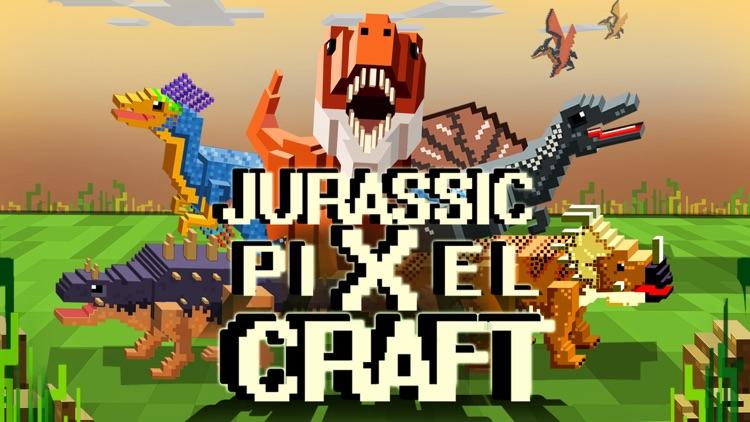 Jurassic Pixel Dinosaur Craft screenshot-4
