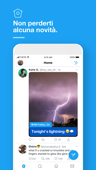 Screenshot for Twitter in Italy App Store
