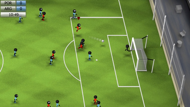 Stickman Soccer 2014 screenshot-0