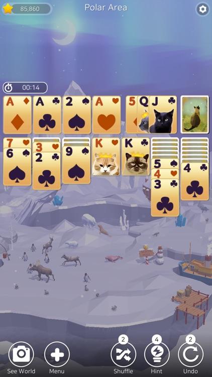 Solitaire Planet Zoo screenshot-6