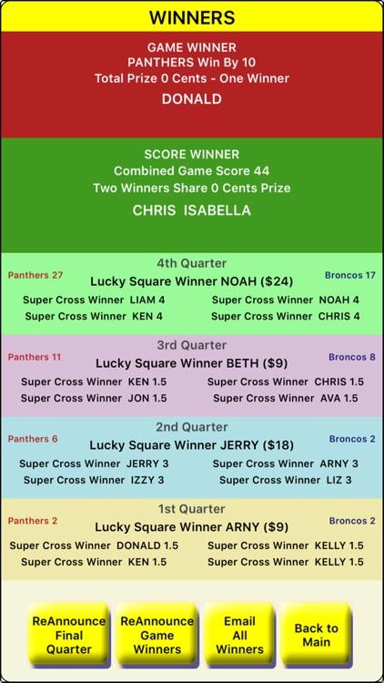 GamePool-Football Pool & Party screenshot-4
