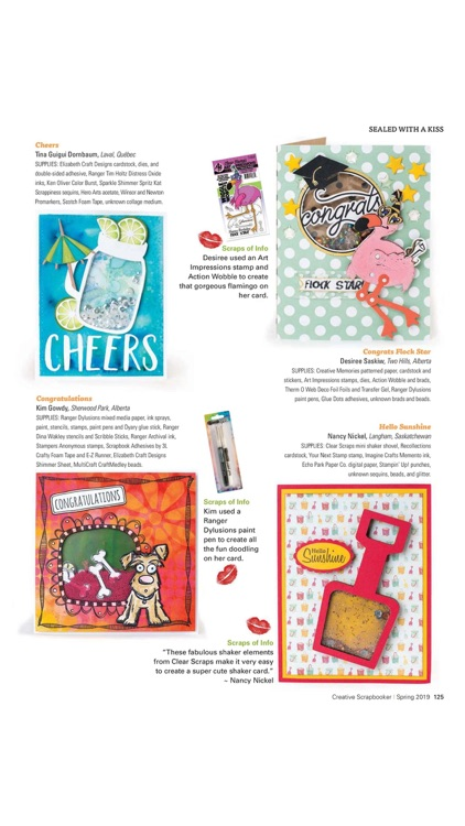 Creative Scrapbooker Magazine screenshot-7