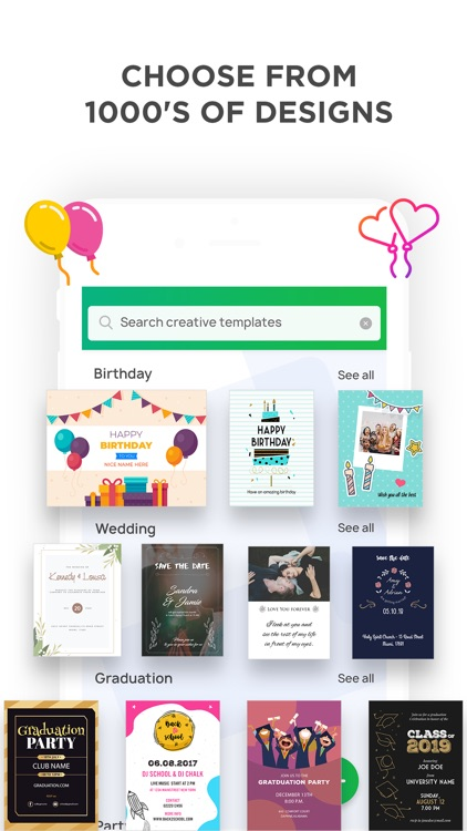 Invitation Maker- Make Invites