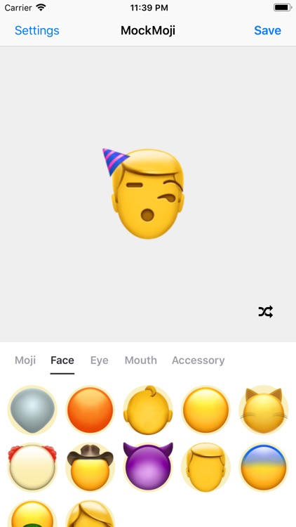 Make your own emoji sticker