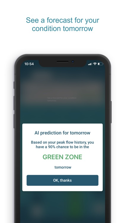 Smart Asthma: Forecast Asthma screenshot-3