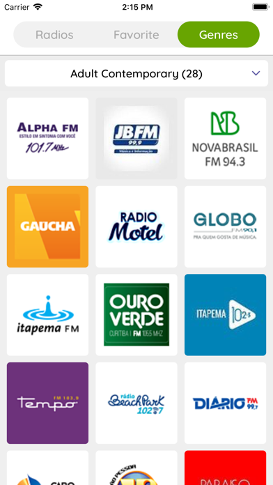 Brazil All Radios screenshot #2