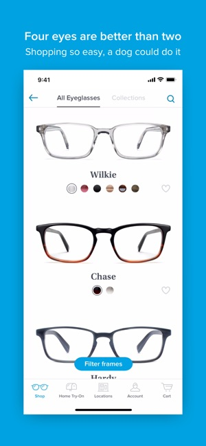 ef484241c6b0 Glasses by Warby Parker on the App Store