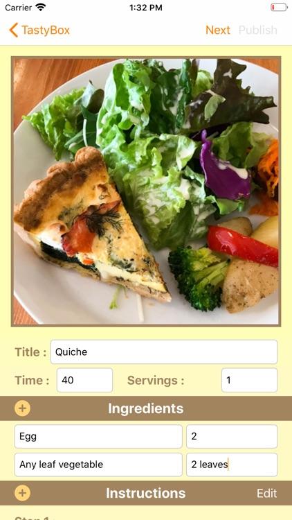 TastyBox - Discovery Recipes - screenshot-8