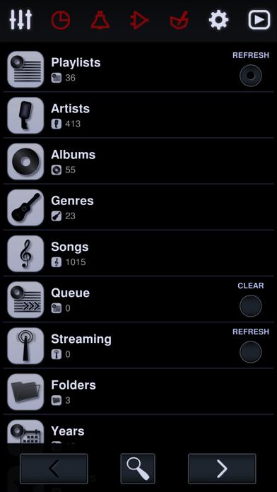 Neutron Music Player Screenshots