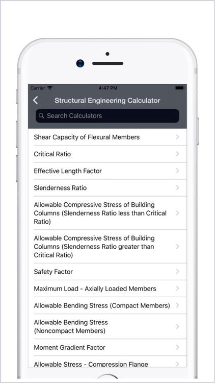 Civil Engineering Calculators