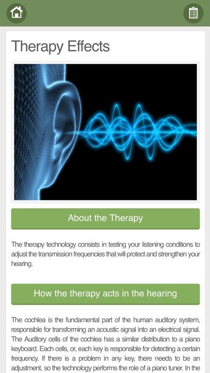 Tinnitus Therapy screenshot-4