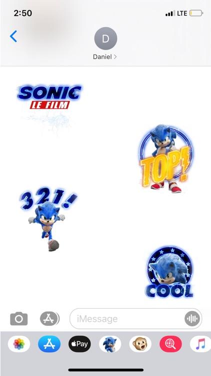 Sonic Le Film - Stickers