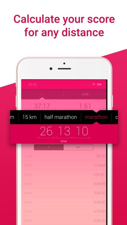 Pace - Ultimate run calculator screenshot-3