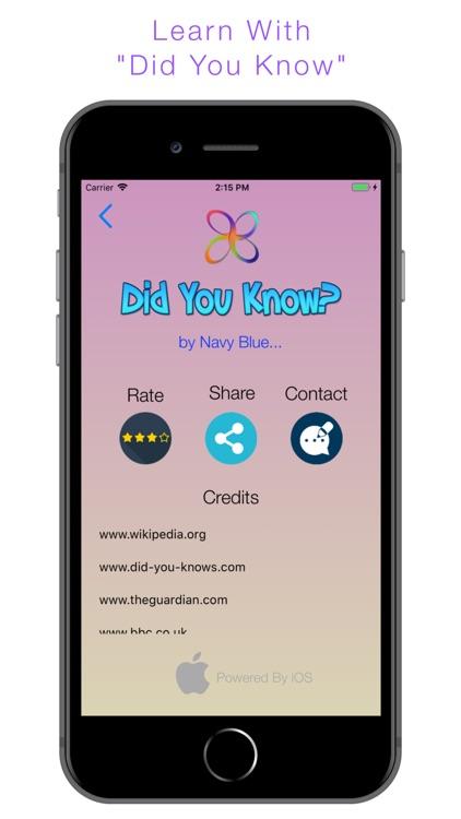 Did You Know? screenshot-8