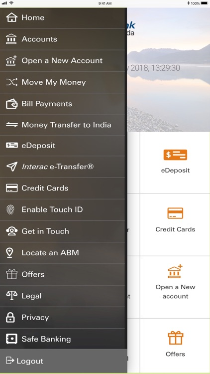 ICICI Bank Canada iMobile