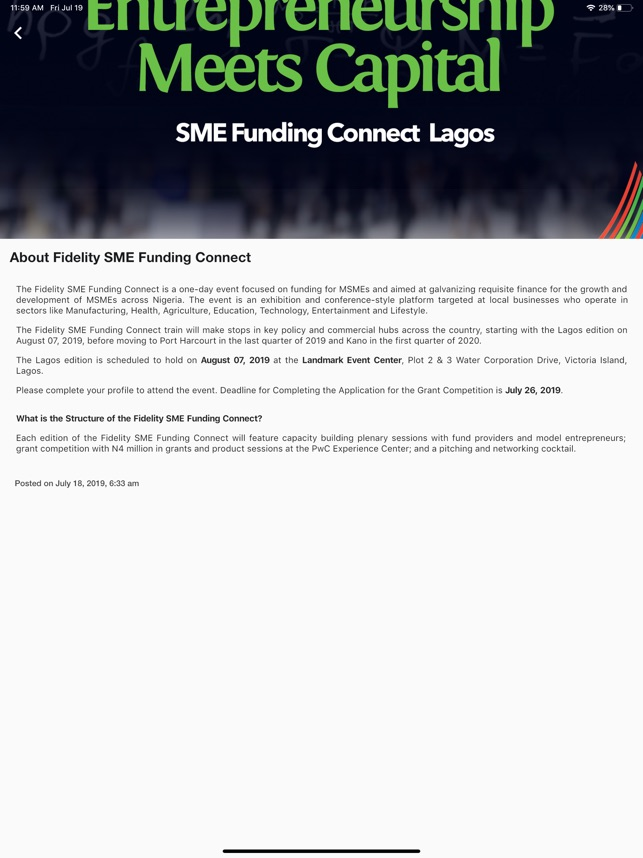 Fidelity SME Funding Connect on the App Store