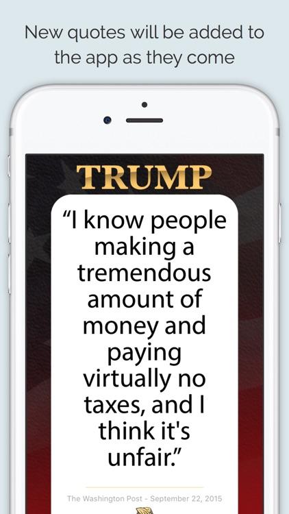 Texts From Donald Trump screenshot-3