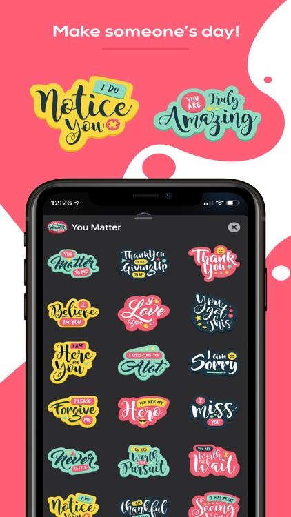 You Matter Sticker Pack screenshot-3
