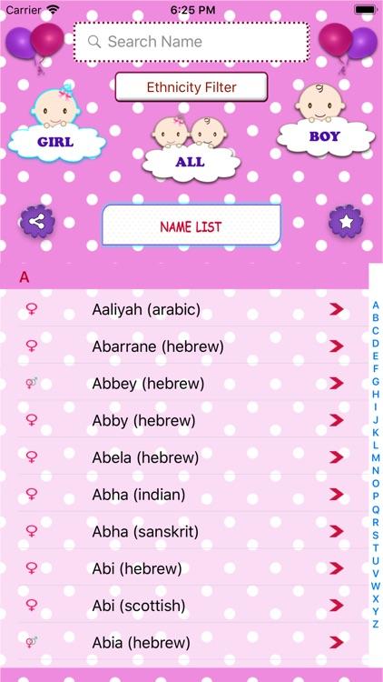 Baby Names Dictionary screenshot-5