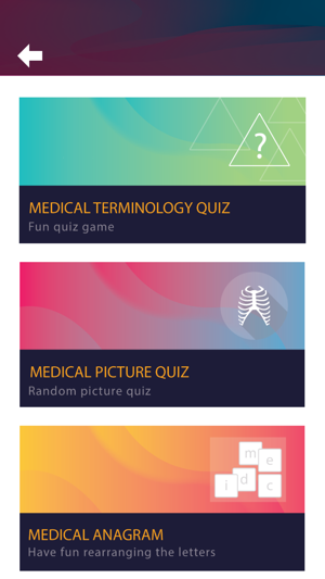 Medical Terminology Quiz Game on the App Store