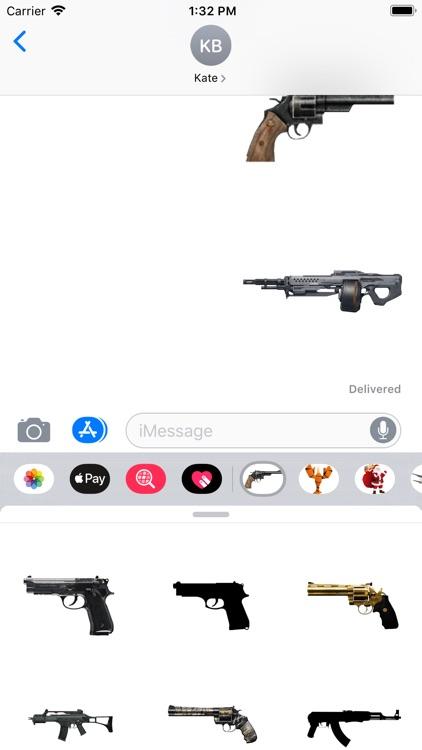 Guns Pro Stickers