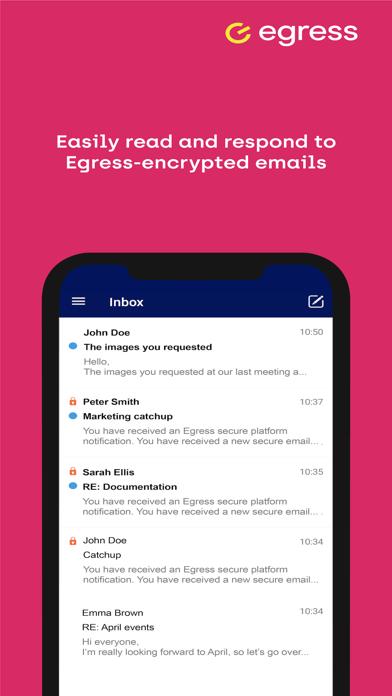 Egress Secure Mail screenshot three