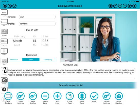 Screenshot #4 pour Form Maker - Pro Form Builder