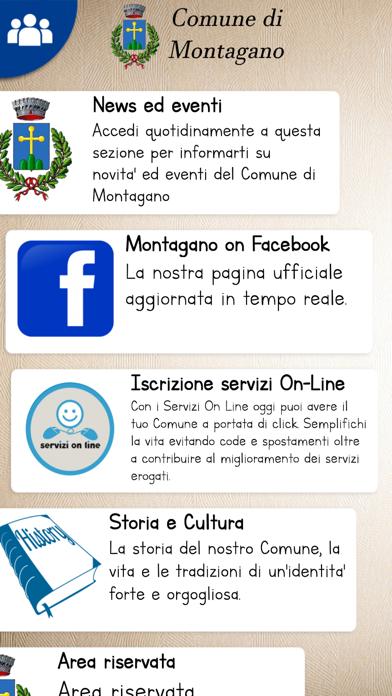 Screenshot of Montagano Comune2