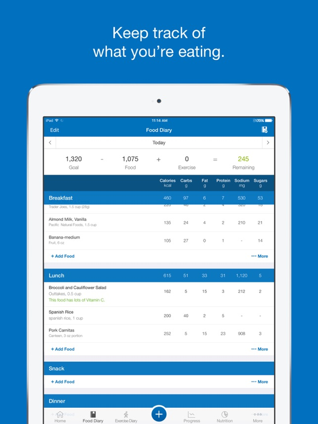 ‎MyFitnessPal Screenshot