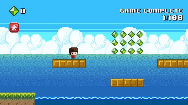 8 Bit Kid - Run and Jump screenshot-3