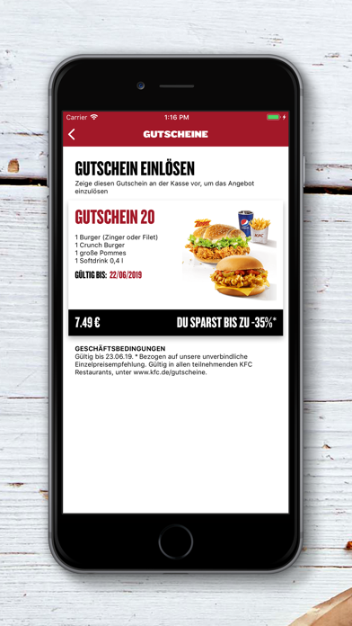 Herunterladen KFC für Pc