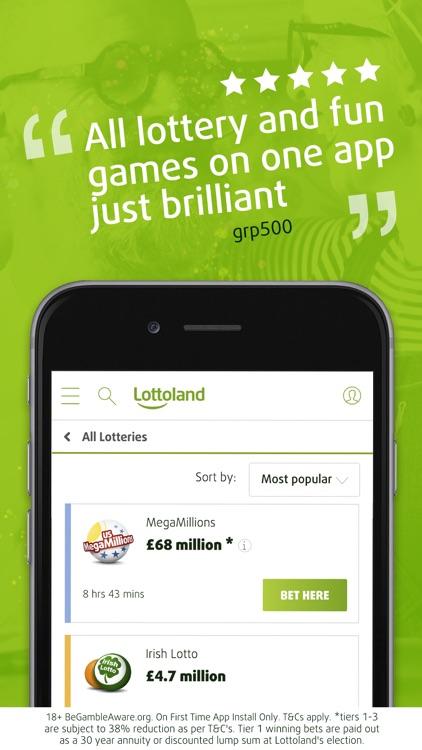 Lottoland: Lottery Betting App screenshot-8