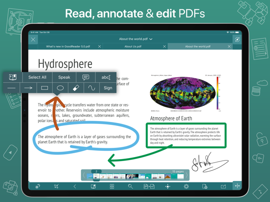 GoodReader PDF Editor & Viewer Screenshot 0
