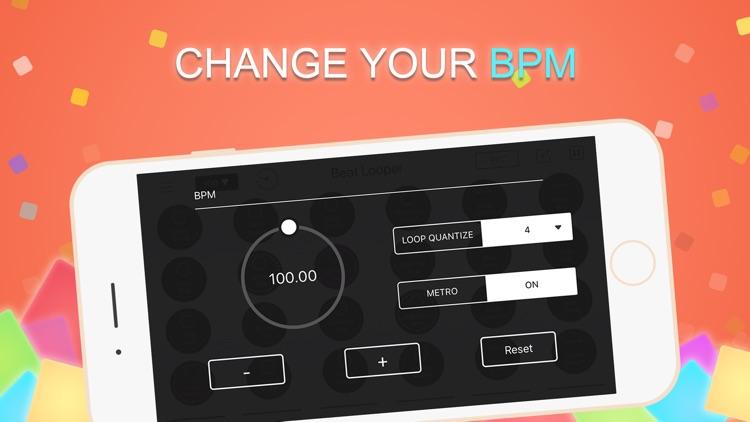 Beat Looper-Beat Maker Machine screenshot-4