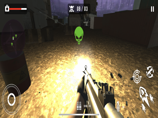 Survival Sniper Zombie Army 3D screenshot 5