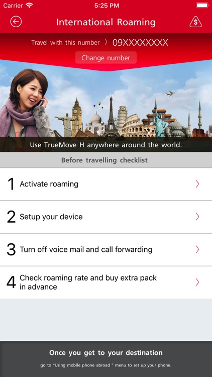 TrueMove H Roaming screenshot-0
