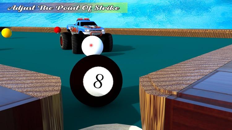 Pool Ball Games: Monster Truck screenshot-3