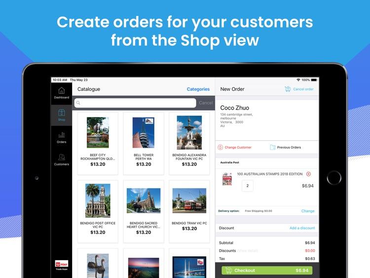 Australia Post LPO Vendor App
